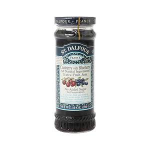 St. Dalfour Cranberry & Blueberry Jam 284g