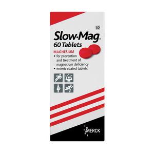Merck Slow Mag Tablets 60
