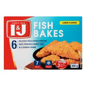 I&j Fish Bake Lemon 360g