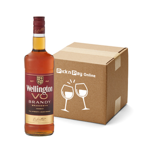 Wellington VO Brandy 750ml x 12