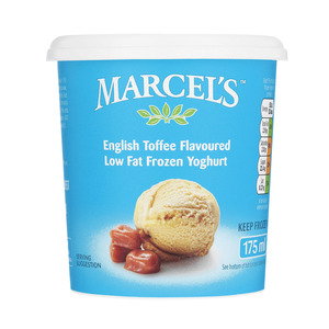 Marcel's English Toffee Frozen Yoghurt 175ml