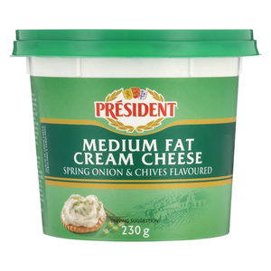 Simonsberg Low Fat Spring Onion & Chives Cream Cheese 230g