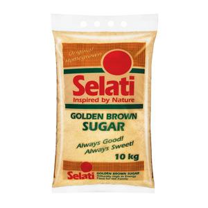 Selati Golden Brown Sugar 10kg