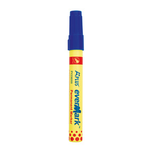 Gmd Permanent Marker Blue Chisel