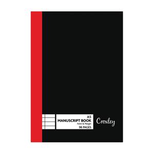 Croxley A5 96 Page Manuscrip t Book