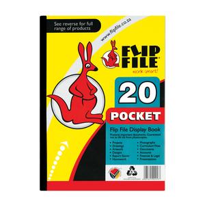 Flip File A4 20 Pocket