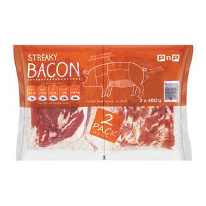 Pnp Streaky Bacon 800gr