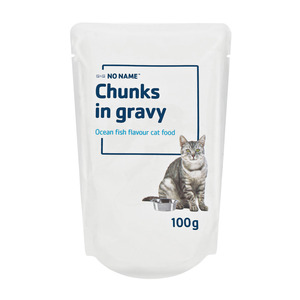 No Name Chunks in Gravy Ocea n Flavour 100 GR