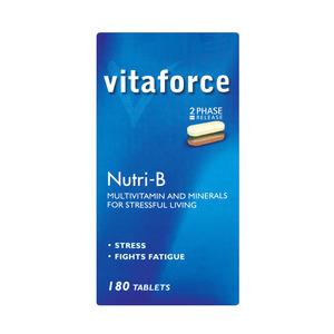 Vitaforce Nutri-b Bpr Tab 180ea