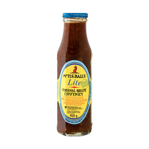 Mrs H.s.ball's Original Lite Chutney 450g x 8