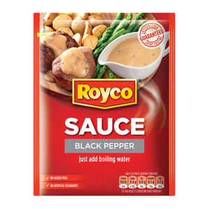 Royco Sauce Black Pepper 38g