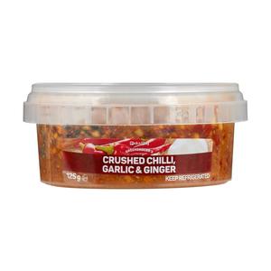 PnP Crush Chilli Garlic & Ginger 125g