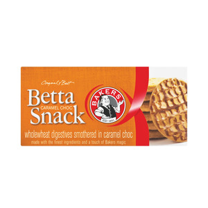 Bakers Caramel Chocolate Bet ta Snack Biscuit 200g