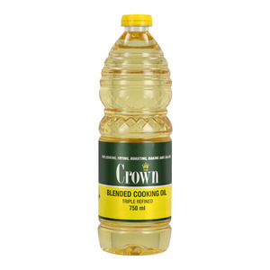 Crown Blended Sunflower Oil 750 ML