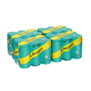Schweppes Dry Lemon Can 200ml x 24