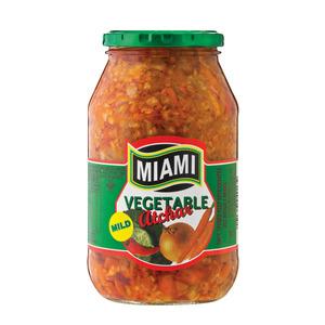 Miami Mild Mixed Vegetable A Tchar 760g