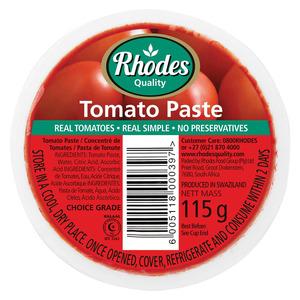 Rhodes Tomato Paste Cup 115 GR