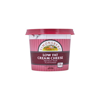 Simonsberg Low Fat Smoked Ham Cream Cheese 230g