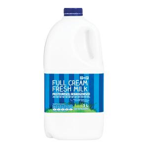 Pnp Full Cream Fresh Milk 3 Litre