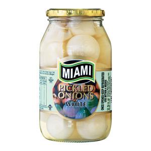 Miami White Pickled Onions 400g