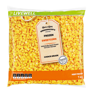 No Name Frozen Corn 1kg