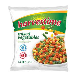 Harvestime Mixed Vegetables 1.5kg
