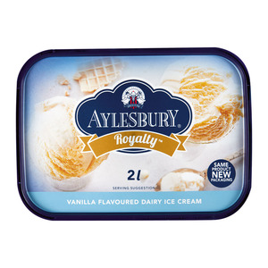 Aylesbury Royalty Vanilla Dairy Ice Cream 2l