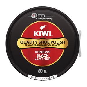 Kiwi Paste Shoe Polish Black 100ml x 12