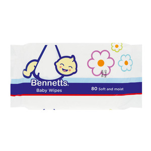 Bennetts Baby Wipes 80s
