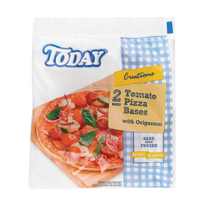 Today Frozen Pizza Bases 2ea