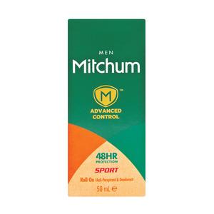 Mitchum Adv Invisible R/o Men Sport 50ml