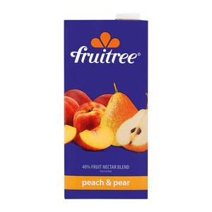 Fruitree Peach & Pear Nectar B Lend 1 Litre heloo