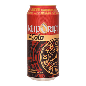 Klipdrift & Cola Can 440 ml