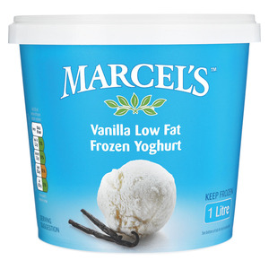 Marcel's Vanilla Flavoured Frozen Yoghurt 1l
