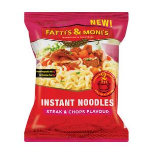 Fatti's & Moni's Instant Noodles Steak & Chops Flavour 78g x 40