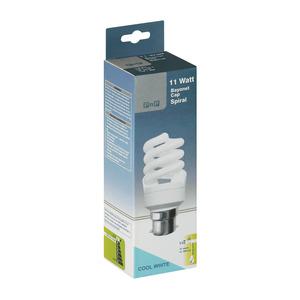 PnP 11w Bc Cw Spiral Energy Savers