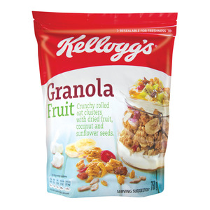 Kellogg's Granola Cereal Fruit 750 Gr