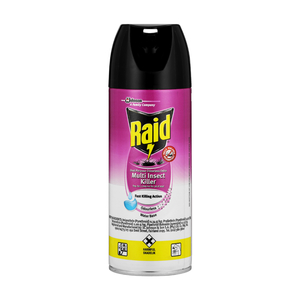 Raid Dual Purpose Odourless Insecticide 300ml x 6