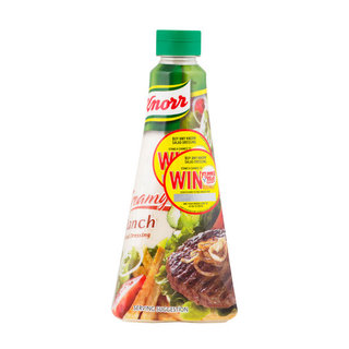 Knorr Creamy Ranch Salad Dre ssing 340ml