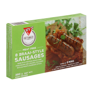 Fry's Braai-Style Sausages 3 80 GR