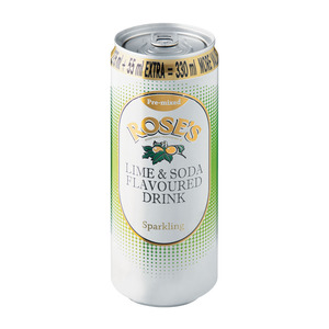 Rose's Lime & Soda 330ml