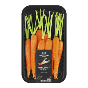 Pnp Baby Carrot With Top 200g