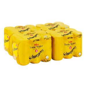 Schweppes Tonic Water Can 200ml x 24