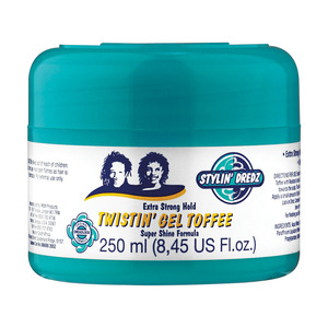 Stylin Dredz Hair Gel Twisting Toffee 250ml