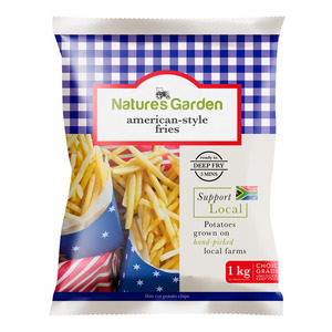 Natures Garden American Style Fries 1kg