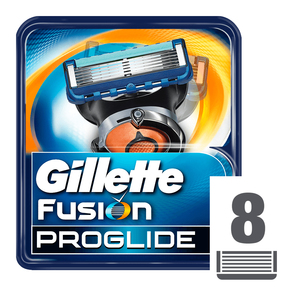 Gillette Fusion Proglide Cartridges 8s
