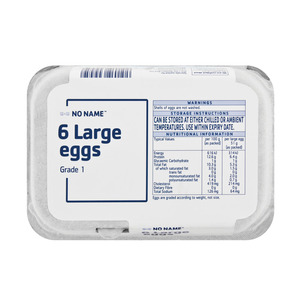 PnP No Name Large Eggs 6