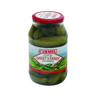 Carmel Sweet & Tangy Pickled Cucumber 750g