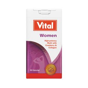 Vital Multivitamin For Women Capsules 60s