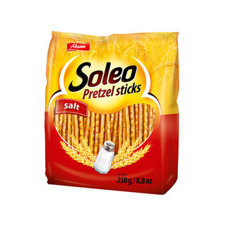 Soleo Pretzel Sticks Salt 250g
